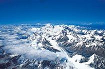 """1994: Už jen to, že Mount Everest uvidím, bylo splněním něčeho, v co jsem nikdy nedoufal. Zvláš, když jsem vyrůstal za """"železnou oponou"""" a až na sklonku režimu jsem odjel na razítko, který jsme si"""