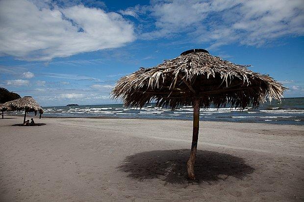 """Pláž u """"sladkého moře"""" a její poetická zákoutí"""