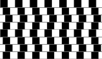 Jsou horizontální vodorovné čáry opravdu křivé?