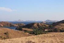 Ostrov Rinča je součástí národního parku Komodo.