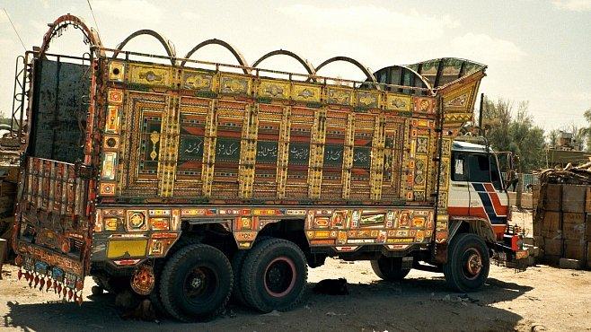 Řidič z pákistánské Kvéty vzkazuje: Češi, jezděte tímhle