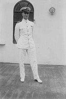 R. E. Byrd ve slavnostní uniformě.