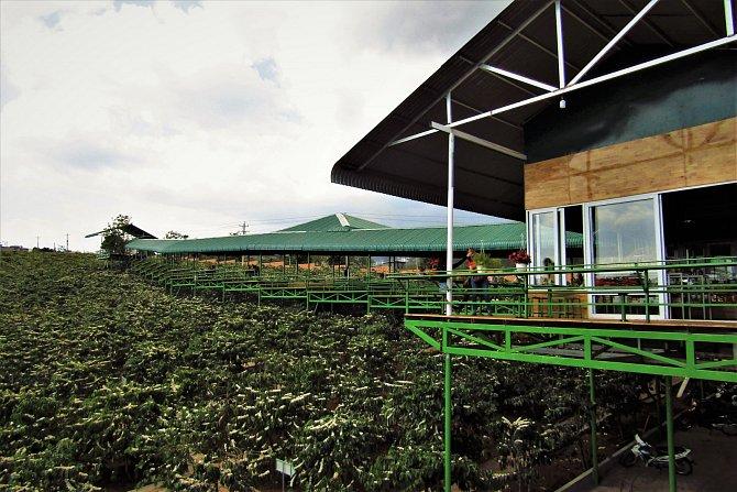 Jedna z kávových továren Centrální vysočiny