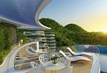Uklidňující pohled na vodu a do přírody je propojen s promyšlenou architekturou 21. století.