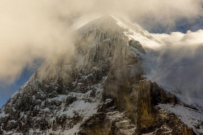 Světově známá hora Eiger