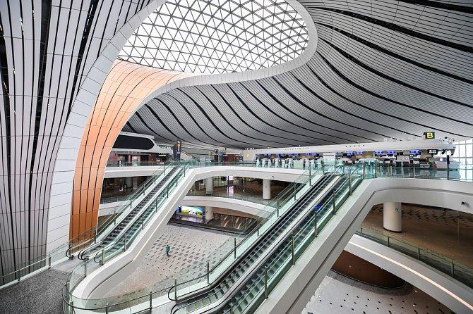 Nabízí kapacitu 100milionů cestujících ročně.