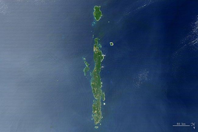 Písmeno I – Andamanské ostrovy