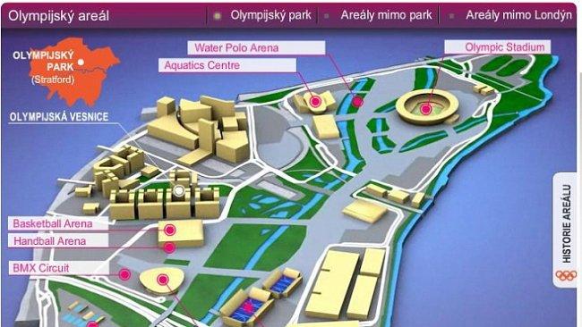 INFOGRAFIKA: Olympijský Londýn, jak ho neznáte