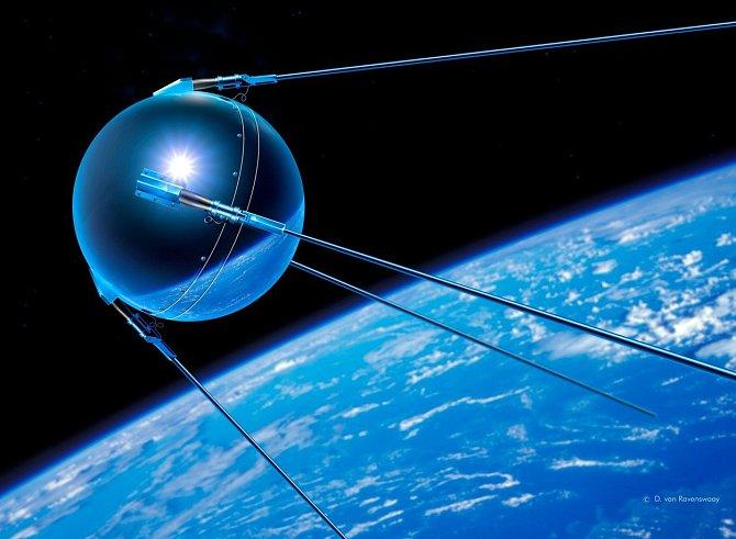 Před šedesáti letech - přesně 4. října 1957 - byla ze sovětského kosmodromu Bajkonur vypuštěna na oběžnou dráhu první umělá družice Sputnik 1. Do ledna 1958 vysílala pípavý signál, který se stal symbolem počátku kosmické éry.