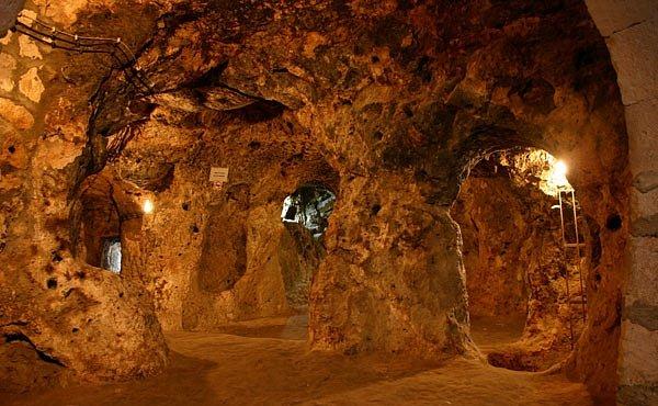 OBRAZEM: Podzemní města v Turecku zachraňovala civilizaci