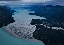 Národní park a rezervace Lake Clark, Aljaška 82 kilometrů chráněno od roku 1980 FOTO: Michael Melford