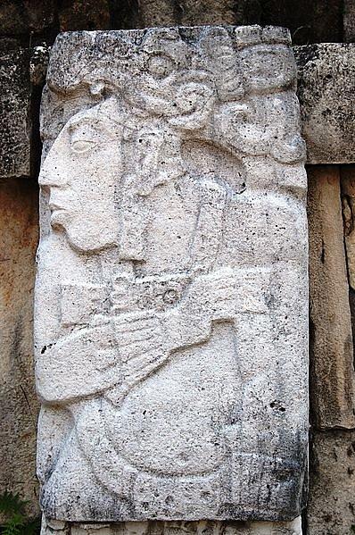 Podobizna Pakala (Palenque)