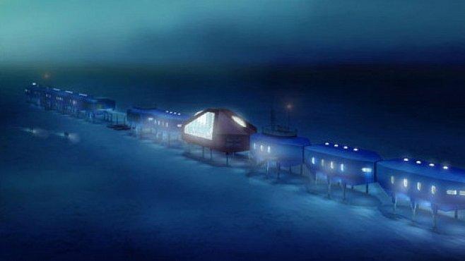 Dům na lyžích, se saunou a horolezeckou stěnou. Tak se staví na Antarktidě