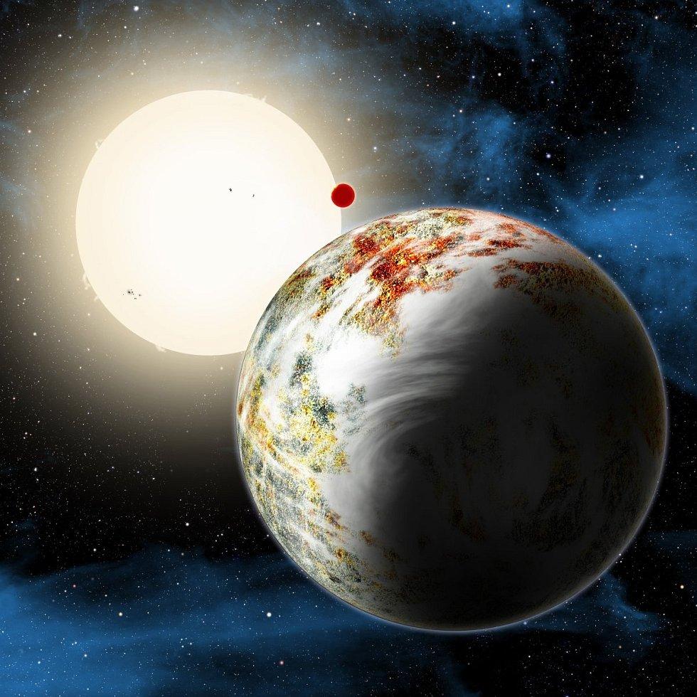 [foto] Mega-Země mění teorie o možnostech života ve vesmíru