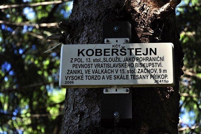 Zřícenina hradu Koberštejn