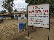 Nemocnice Lékařů bez hranic v Gondama. (Foto © Niklas Bergstrand/MSF)