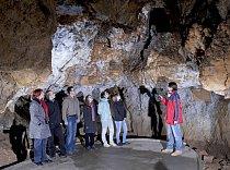 Návštěvníci v Koblihové síni