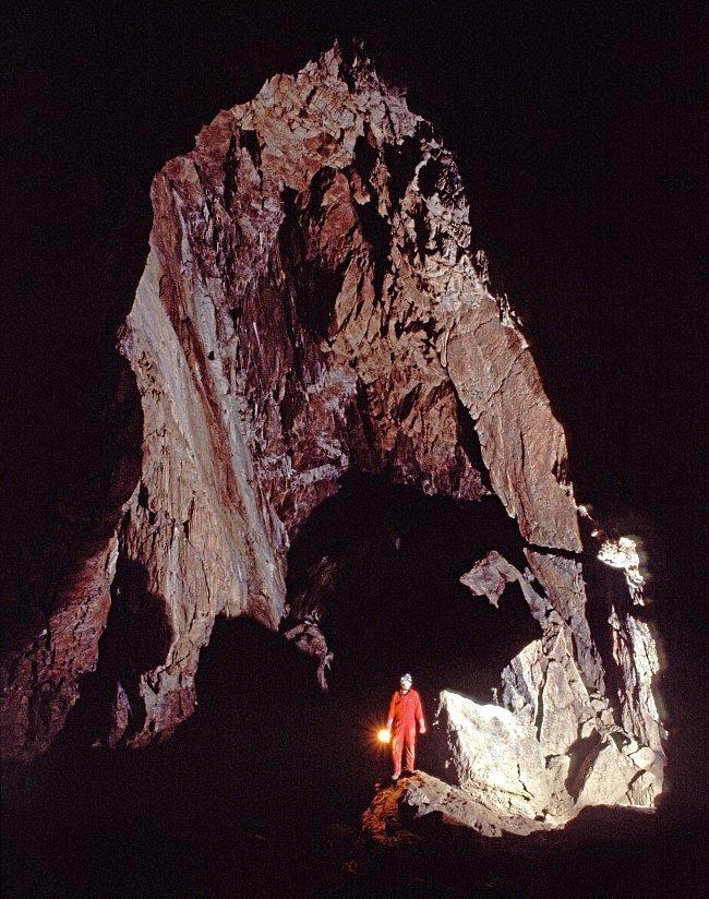 Amatérská jeskyně je součástí nejdelšího jeskynního komplexu u nás.