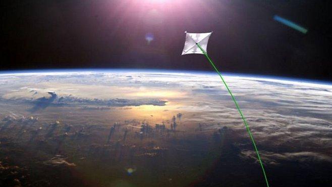 Největší solární plachtu vyšle NASA do vesmíru příští rok