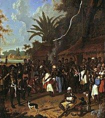 Otroci při tanci