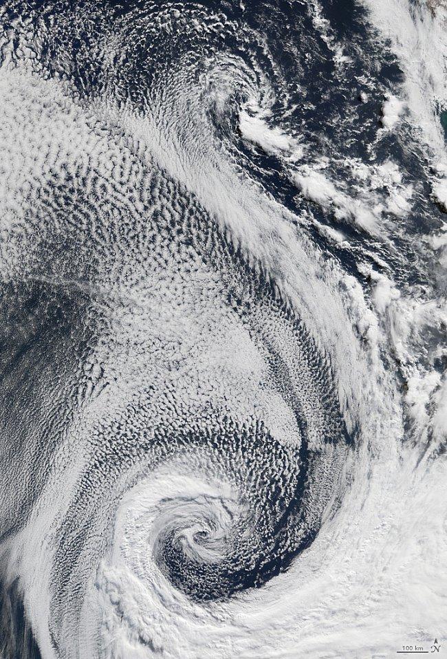 Písmeno S – Mraky nad Atlantikem