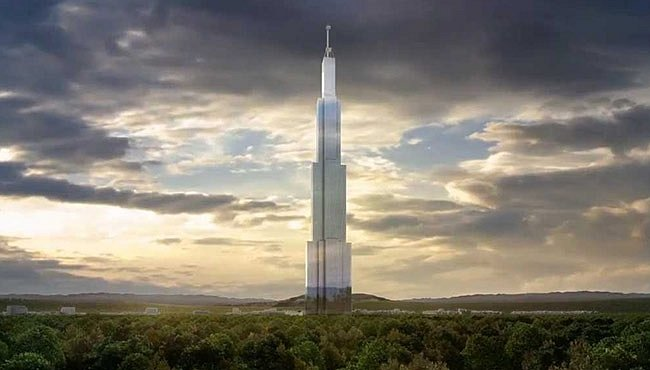 Nejvyšší budova na světě má fungovat jako město pro 30 tisíc lidí