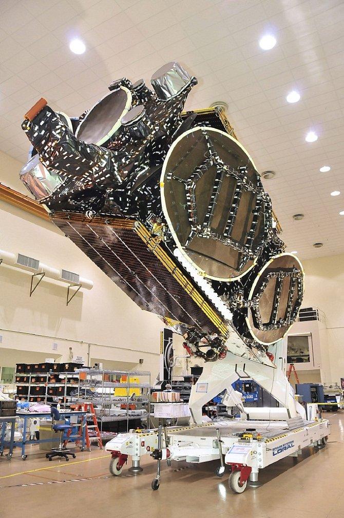Konstrukce rakety SES 5