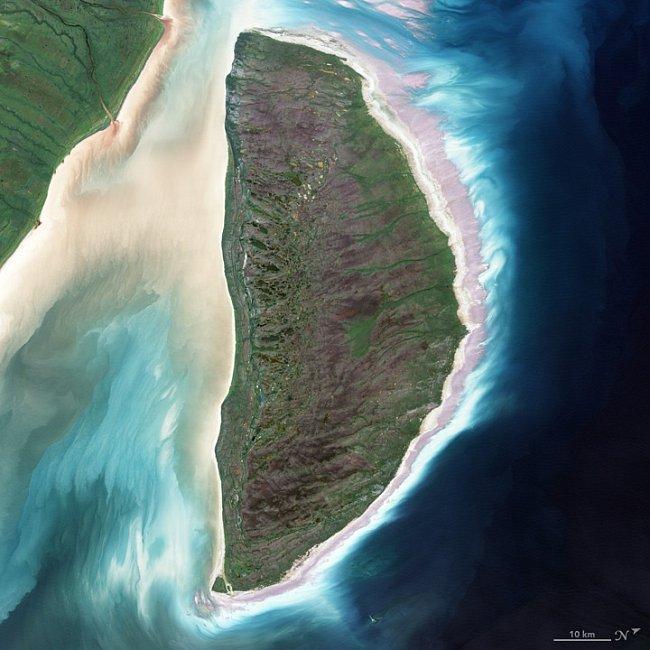 Písmeno D – Ostrov Akimiski v Jamesově zátoce