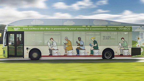 Bio-bus poháněný výkaly