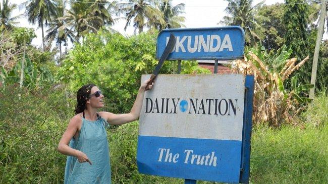 Sejdeme se v Ukundě aneb laciné žertování na účet keňských jmen