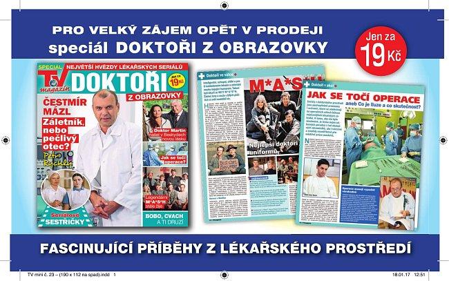Speciál TV magazínu z doktorského prostředí