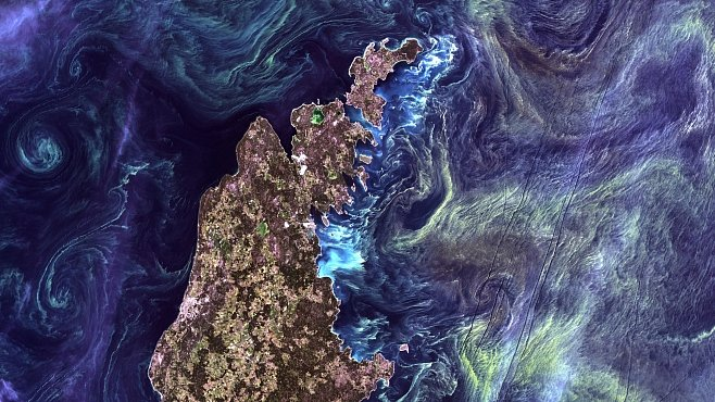 Nejlepší fotografie Země z vesmíru za 40 let. Vybírala NASA