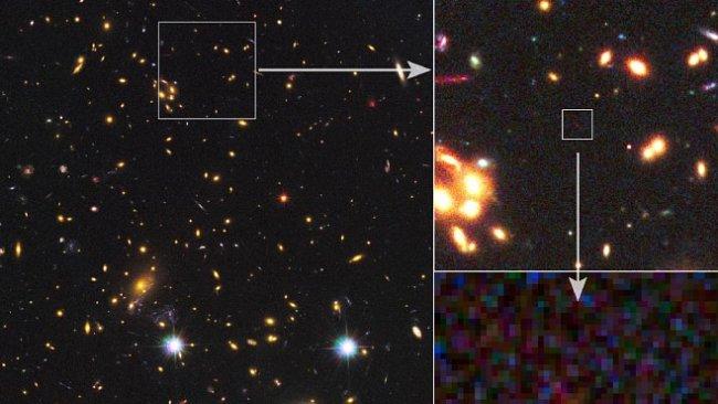Našli nejvzdálenější galaxii vesmíru. Pochází z dob, kdy byl svět ještě mladý