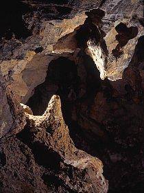Kuželový stalagmit