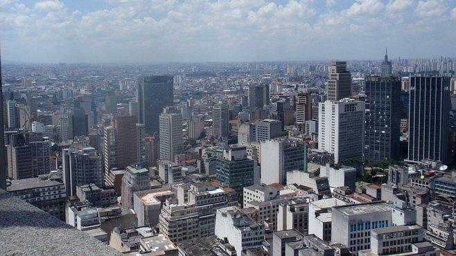 Betonová džungle. São Paulo pohledem z 41. patra