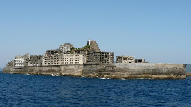 Bitevní loď – to je opuštěný ostrov, na který Japonsko zapomnělo