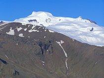 Ledovec na Hvannadalshnúkur