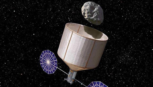 NASA chce chytit asteroid a odtáhnout ho k Měsíci