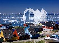 Ilulissat je třetí největší grónské město. Žije tam 5 000 obyvatel.