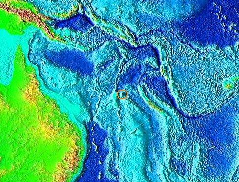 Ostrov zakreslený na mapách i na Google Earth neexistuje. Jak se na mapy dostal?
