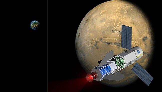 Nový fúzní pohon zkrátí let k Marsu na 30 dní