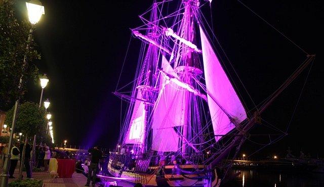Česká plachetnice ztroskotala u španělských břehů