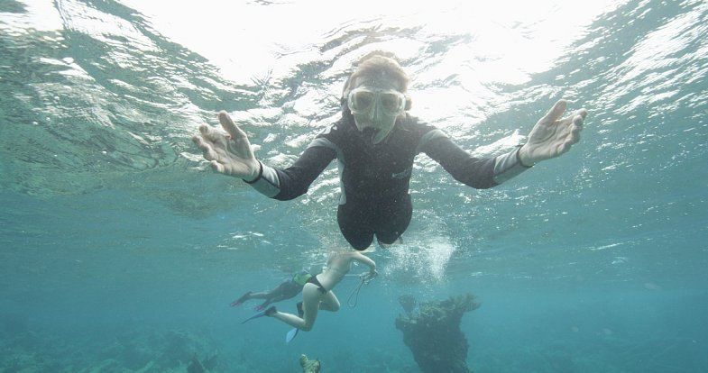 """Sylvia Earle, která strávila pod hladinou více než 7000 hodin, jasně varuje: """"Oceány umírají."""""""