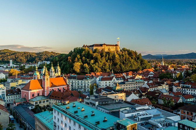 Lublaň se v roce 2016 stala oficiálně nejzelenějším hlavním městem Evropy.