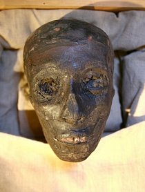 Mumie Tutanchámona