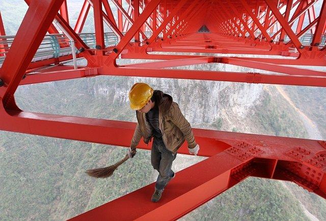 Nejdelší závěsný most v Asii