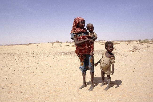 Sucho je hlavním strašákem Súdánu.