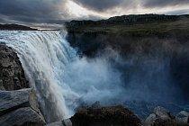 Vodopád smrti Detifoss - severní Island
