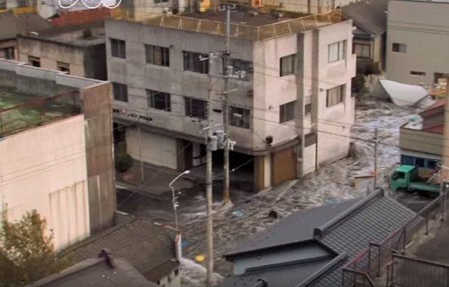 Tsunami v Japonsku