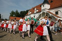 Součástí Slavností chleba ve Slupi bude i folklorní vystoupení.